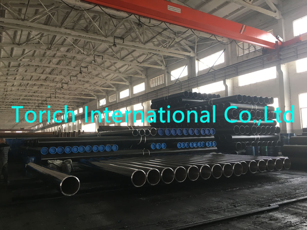 Low Carbon Seamless Steel Tube DIN 1629 St37.0 Non - Alloyed Steel Pipe